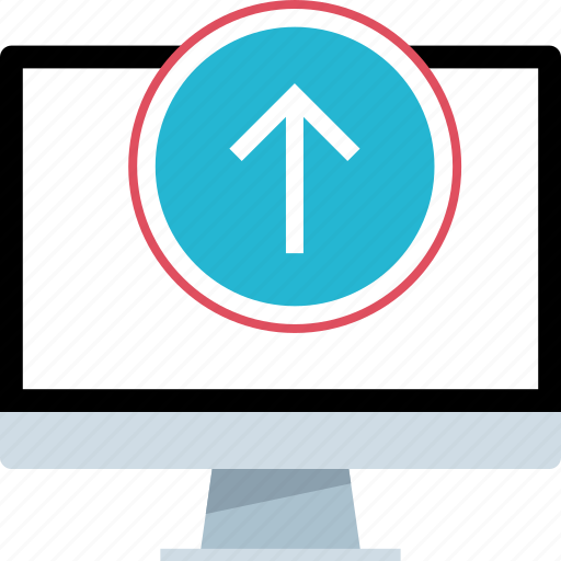 arrow, data, go, up icon