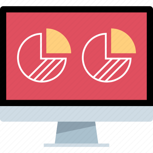 chart, graph, mac, pc icon