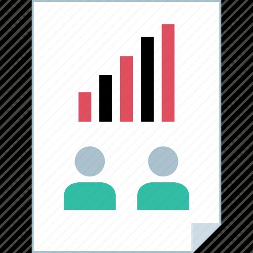 data, graph, info, report icon