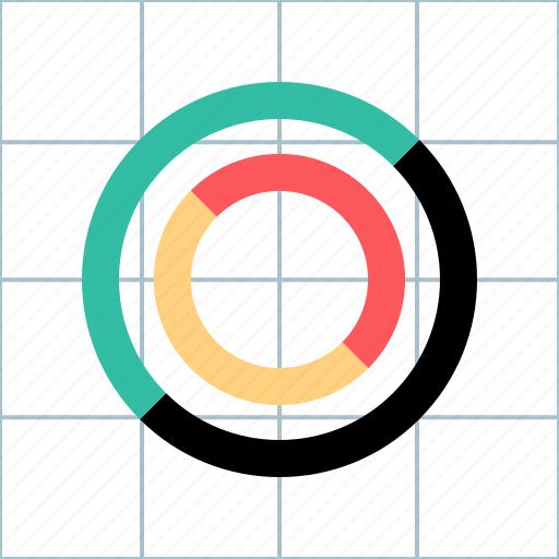 diagram, info, seo, web icon
