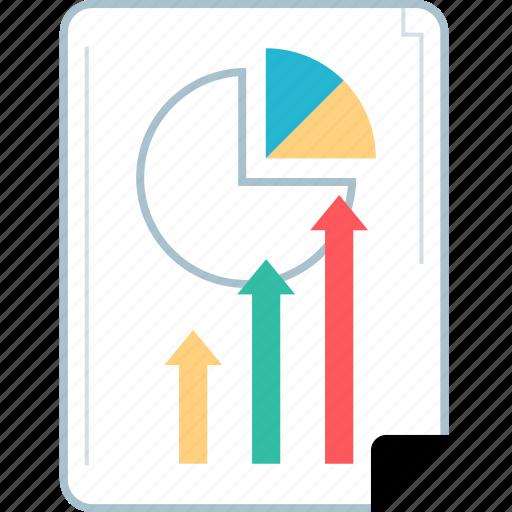 analytics, page, seo, web icon