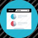 data, online, web, www icon