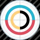chart, data, diagram, report icon