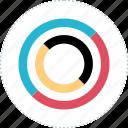 acitivity, diagram, measure, results icon