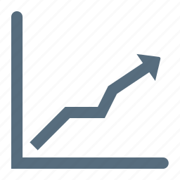 analysis, analytics, chart, graph, growth, line, statics icon