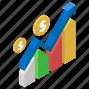data analytics, financial chart, growth chart, infographic, statistics
