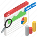 competitor analysis, competitor assessment, data analysis, infographic, statistics icon