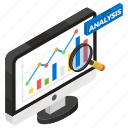 business analysis, business report, data analysis, infographic, online data, statistics icon