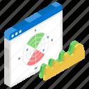 data analytics, infographic, polar chart, polar diagram, statistics