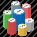 bar graph, data analytics, infographic, percentage chart, percentage graph, statistics