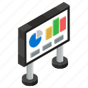 business presentation, data analytics, graphical data, graphical presentation, infographic, statistics icon