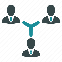 communication, conference, connection, group, media, people, team icon