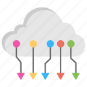 circuit cloud computing, cloud computing, cloud computing application, cloud computing circuit, cloud computing network icon