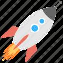 flying rocket, missile, rocket, rocket launch, spaceship