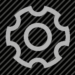 gear, install, set up, settings, setup icon