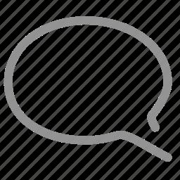 chat, comment, dialogue, message, messages, talk icon