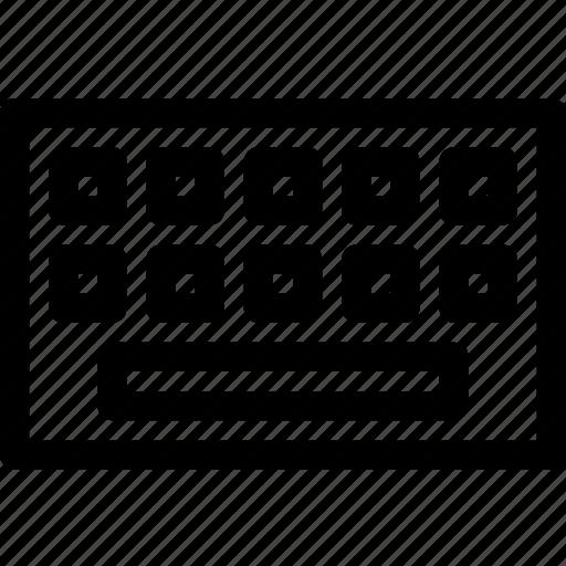key, keyboard icon