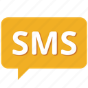 alert, chat, email, facebook, message, notification, sms icon