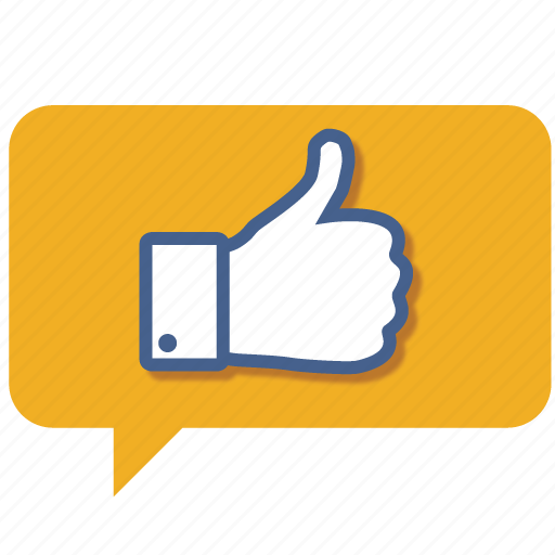 accept, chat, facebook, favorite, like, love, thumbs icon