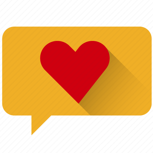 accept, chat, favorite, good, heart, like, love icon