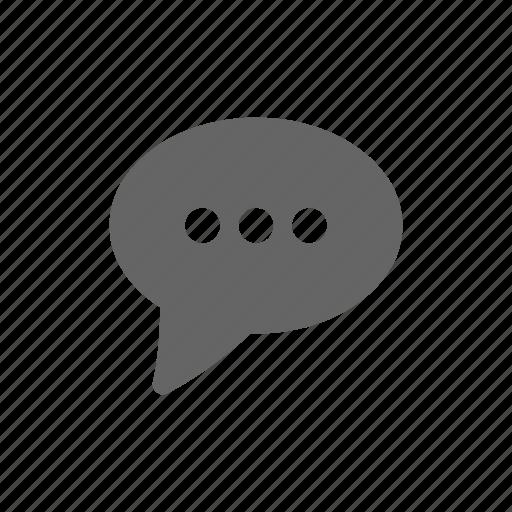 bubble, chat, message, speak icon