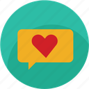 chat, good, heart, like, love, thumbs, favourite