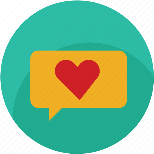 chat, favourite, good, heart, like, love, thumbs icon