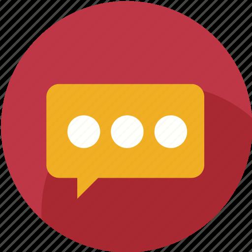bubble, chat, comment, communication, mail, message, social icon