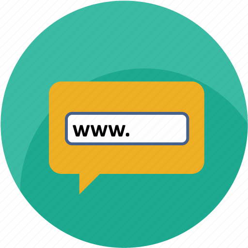 browser, chat, contact us, internet, url, website, www icon