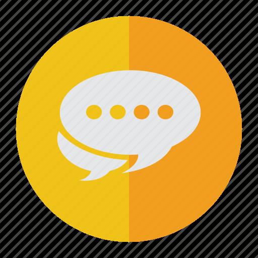 chat, chatting, communicate, communication, conversation, dialogue, discussion, idea, information, message, speak, talk, think icon