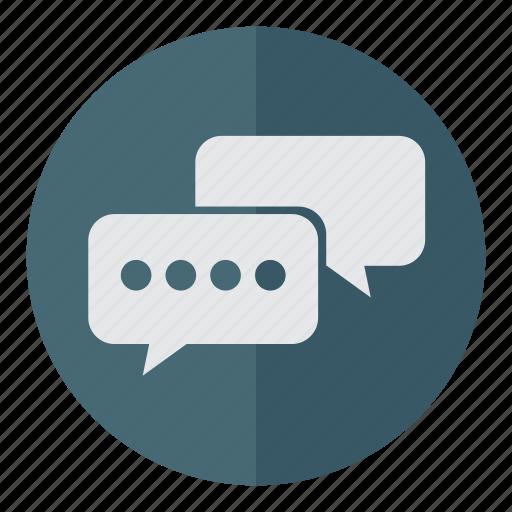 chat, chatting, comment, communicate, communication, conversation, dialogue, idea, information, message, speak, talk, think icon