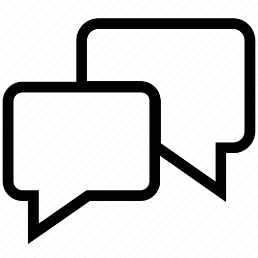 chat boxes, communicating, communications, connections, messages icon