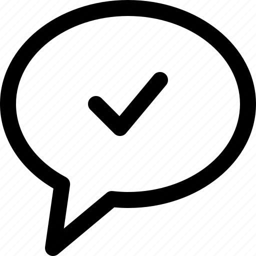 chat, chat message delivered, message, message delivered, support icon