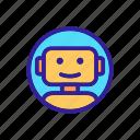 app, artificial, bot, chat, chatbot, dialog, robot