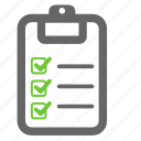 accept, check, checklist, list, mark, ok, success icon