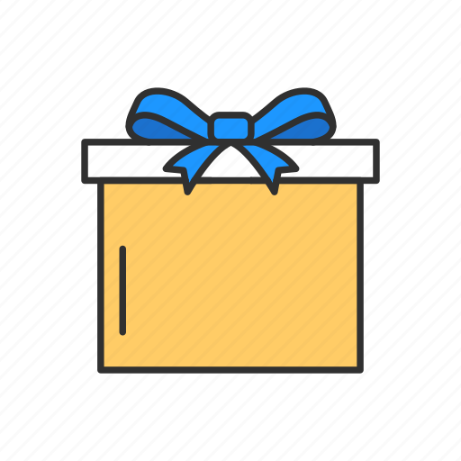 gift, gift box, holiday, present icon