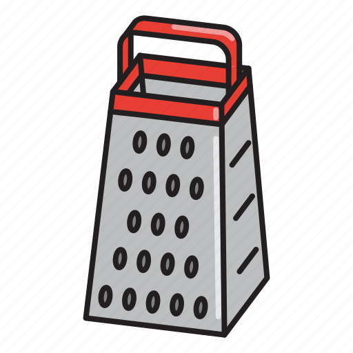 cheese, cooking, food, grater, kitchen, tool, utensil icon