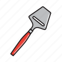 cheese, cooking, kitchen, knife, slicer, tool, utensil icon