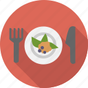 food, cooking, meal, appetizer, fork, diet, breakfast, knife