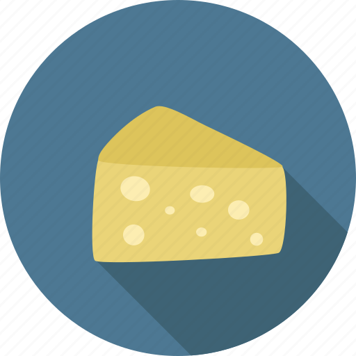 Cheese, dairy, food, piece, swiss icon - Download on Iconfinder