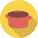 casserole, cook, cooking, dinner, dish, pan, pot icon