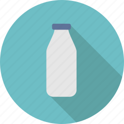beverage, bottle, diary, drink, lactose, milk, packaging icon