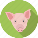 animal, domestic, mamal, pig, pork icon