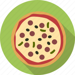 cook, eating, fastfood, food, italian, italy, pizza, restaurant icon