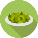 eating, food, green, healty, lettuce, salad, vegetarian icon