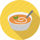 cuisine, dish, eating, food, meal, soup, spoon icon