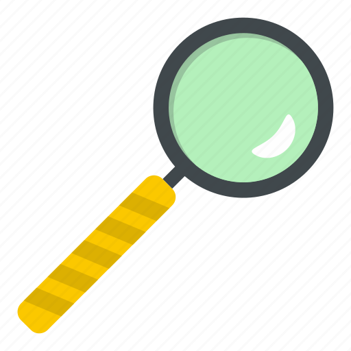 Glass, lens, magnifier, magnifying, search, tool, zoom icon - Download on Iconfinder