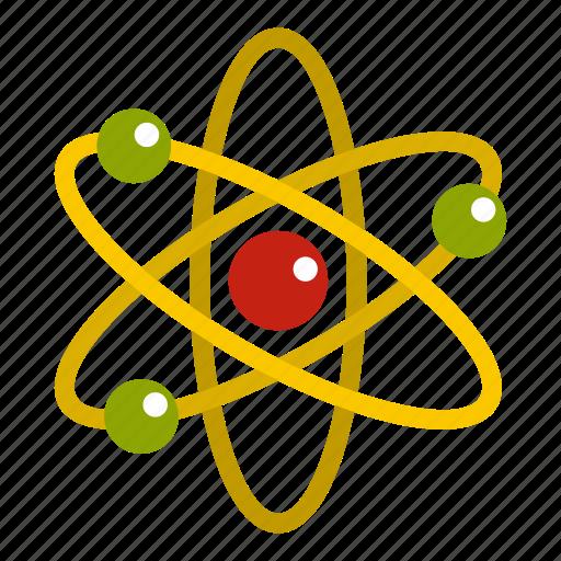 atom, chemistry, molecule, physics, science, scientific, sphere icon