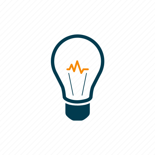 idea, lightbulb, physics, power, progress, science, technology icon