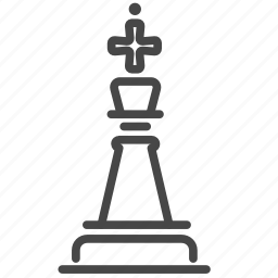 chess, game, king, strategic, strategy icon
